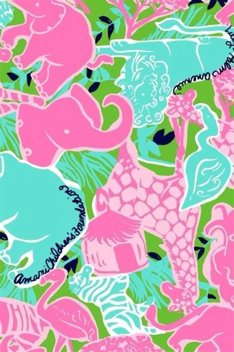 elephant pattern iphone wallpaper tickled pink lilly iphone backgrounds