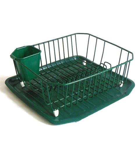 Dish Rack With Drainer Tray by Rubbermaid Dish Drying Rack Drainboard Mat By