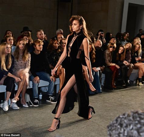 Walking The Catwalk Out Of by Topshop Unique Models Take Style Inspiration From