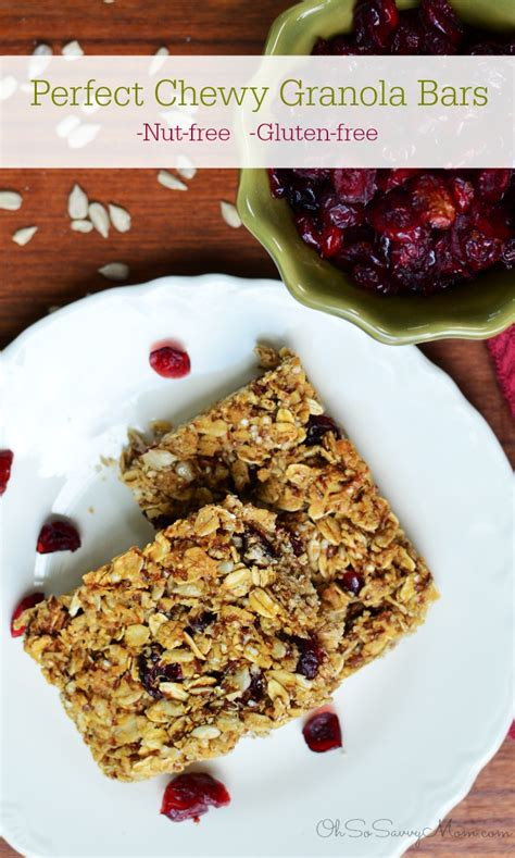 Top Granola Bars by The Best Granola Bar Recipe Nut Free Gluten Free And So