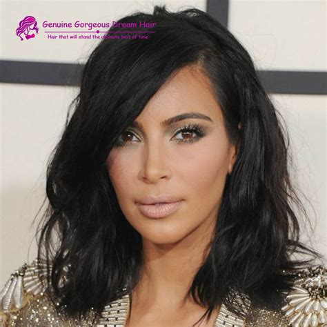 kim kardashian curly bob kim kardashian style bob haircut virgin brazilian hair