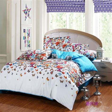 egyptian cottonbutterfly comforter cover setbedspread