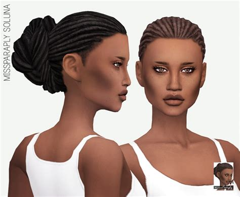 african cc hair for sism4 soluna hair solids at miss paraply 187 sims 4 updates