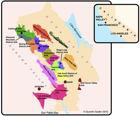 napa valley winery map cakebread a great napa winery quentin sadler s wine page