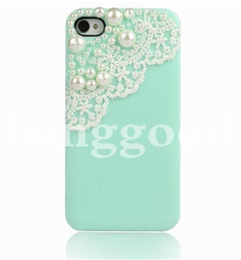 Cameron Screen Protector Iphone 4 pearl lace screen protector for