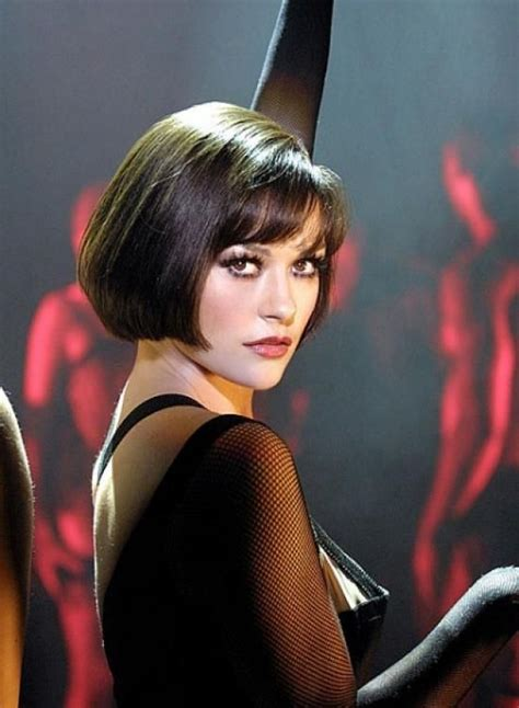 haircut chicago o hare short bob hairstyle catherine zeta jones in chicago
