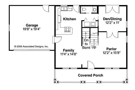 craftsman house floor plans craftsman house plans bailey 30 262 associated designs