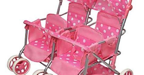 4 seat doll stroller badger basket deluxe doll stroller pink white 2 2