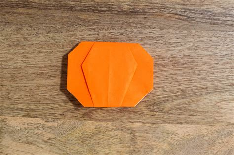 Pumpkin Origami - easy pumpkin origami all for the boys