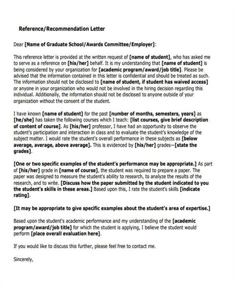 Recommendation Letter For Employee Performance 79 Exles Of Recommendation Letters