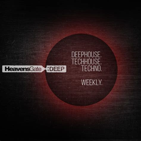 deep house music podcast heavensgate deep radio show monthly mix 989records