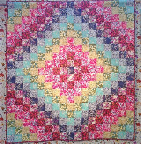 Trip Around The World Quilts by Pattern Liberty Rainbow Trip Around The World Quilt