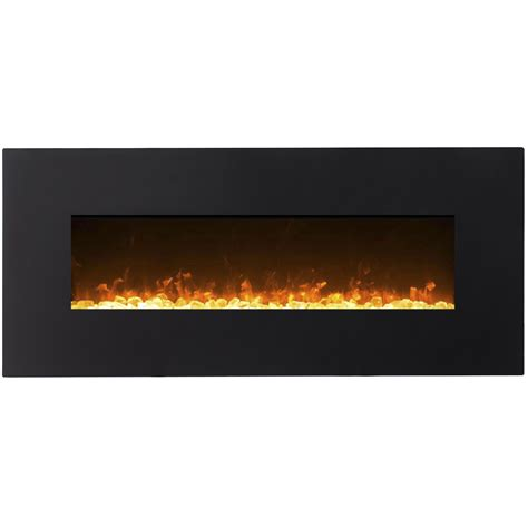 liberty 50 inch electric wall 50 inch black ventless heater electric wall mounted fireplace