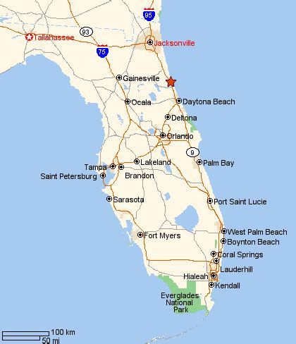 map of palm coast florida where is palm coast florida