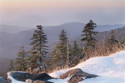 Nice Cold Mountain Cabin Rentals #8: View-of-the-Smoky-Mountains-in-the-winter.jpg