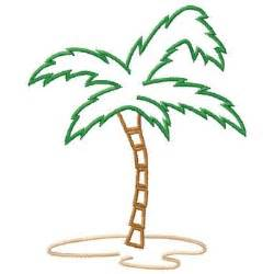 Palm Tree Outline by Outlines Embroidery Design Palm Tree Outline From Gunold