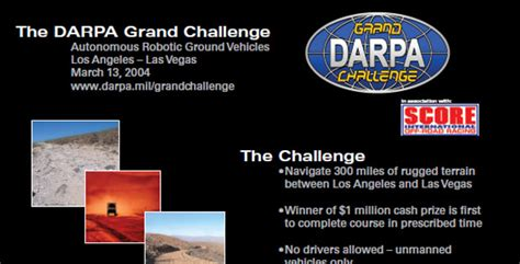 grand challenge darpa the darpa grand challenge ten years later