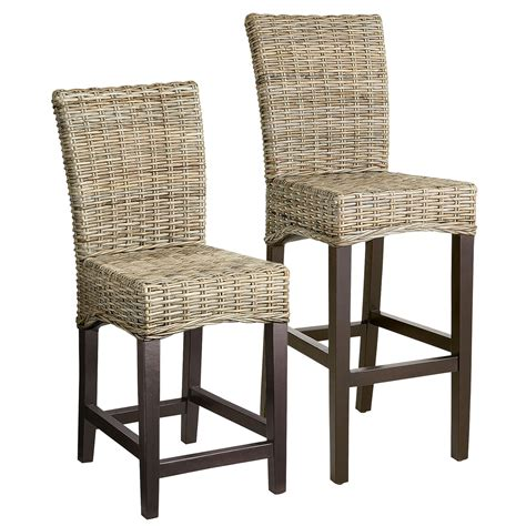 Rattan Backless Counter Stools by Stools Design Astonishing Wicker Counter Height Stools