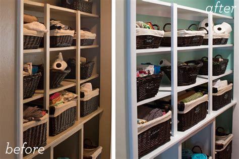 Open Closet Shelves Hearts Open Shelving Hallway Organization
