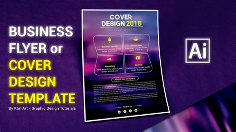 flyer design illustrator tutorial illustrator tutorial flyer or cover design template