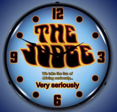 pontiac racing logo the judge gto pontiac logo lighted clock nostalgia