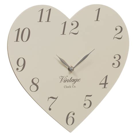 Kitchen Furniture Stores b amp m vintage clock co heart clock 274858 b amp m