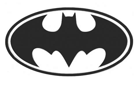 how to draw the batman symbol step by step drawing