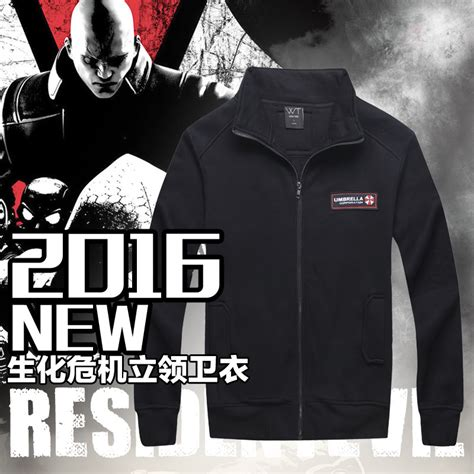 Hoodie Jaket Evil Corp Sweater Warung Kaos new 2016 resident evil umbrella corporation costume sweatshirt hoodie coat jacket limited