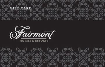 Hotel Gift Cards Canada - ngc fairmont hotels gift cards canada egift cards ngc canada