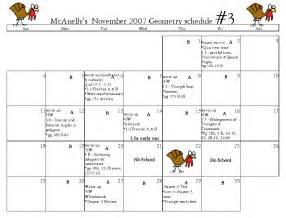 thanksgiving 2007 calendar index of geometry calendars