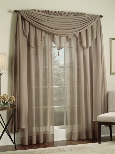 Sage Green Living Room by Reverie Curtains Taupe Lorraine Casual Curtains