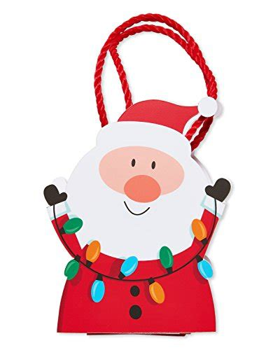 American Greetings Gift Cards - american greetings christmas gift card holder santa with light strand your best