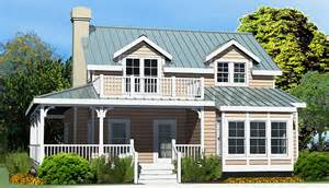 Low Country House Plans With Wrap Around Porch by Country Cottage Crawlspace Foundation 1933 Sf