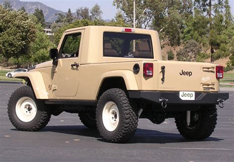 Truck Or Jeep Jeep Jt Wrangler Concept Truck All About It