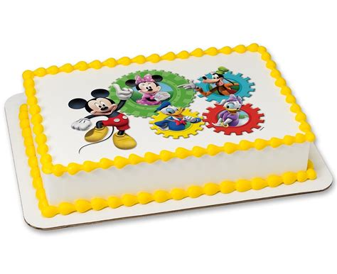 Mickey Mouse Clubhouse Cheers! PhotoCake® Cake   Cakes.com