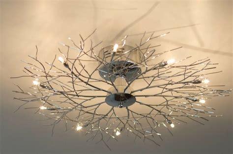 plafonnier   branches lampe de salon moderne lampe