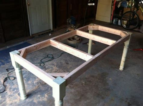 how to make a kitchen table woodwork building a wood table pdf plans