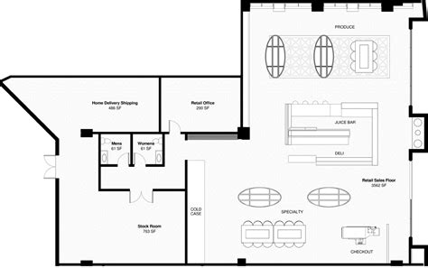 retail floor plans retail building plans home design