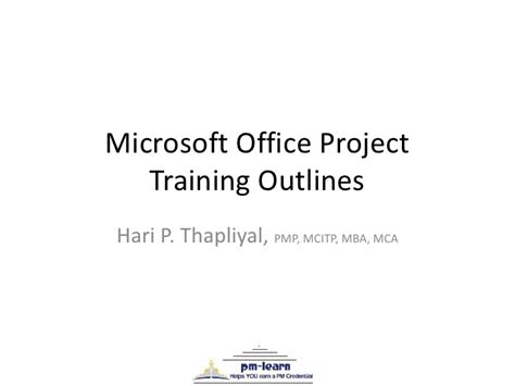 Berkeley Mba Microsoft Office by Msp 2007 Course Outline