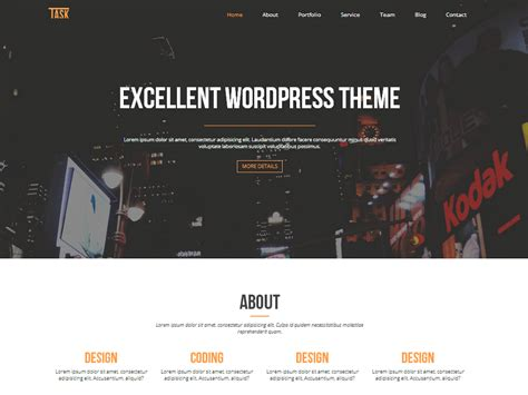 30 best free one page wordpress themes 2016 athemes