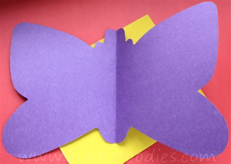 How To Make Butterflies Out Of Construction Paper - how to make a butterfly out of construction paper 28