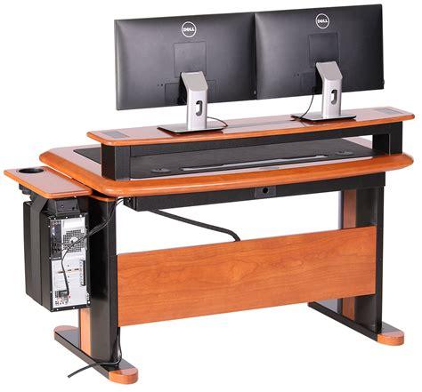 Desk Riser Shelf Wood by Premium Wood Desktop Riser Shelf Standard Caretta Workspace