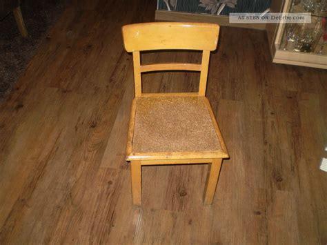 stuhl 50er 60er antiker kinderstuhl kleiner stuhl holzstuhl 50er 60er jahre