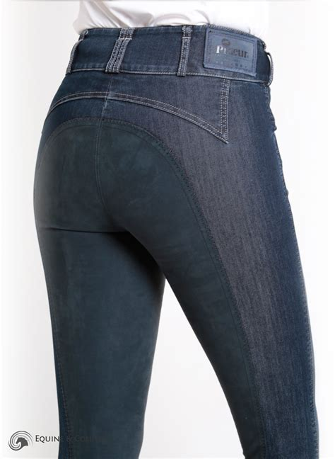 Denim Jn pikeur candela denim jean breeches