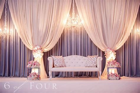 wedding decor draping ideas 8 stunning stage decor ideas that will transform your