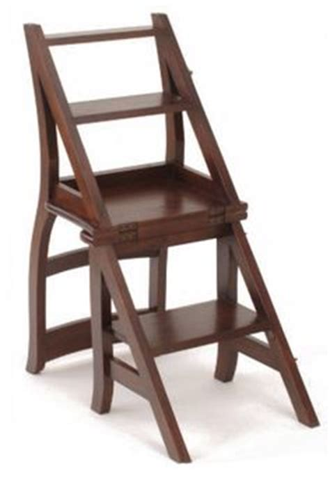 Ben Franklin Chair Step Stool by Ben Franklin Library Chair Stepladder My Style