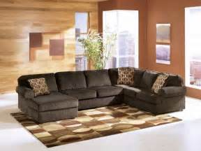 rent a center living room sets rent ashley vista chocolate 3 piece sectional rent a center