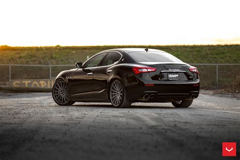 maserati black black maserati ghibli looking fly on custom polished