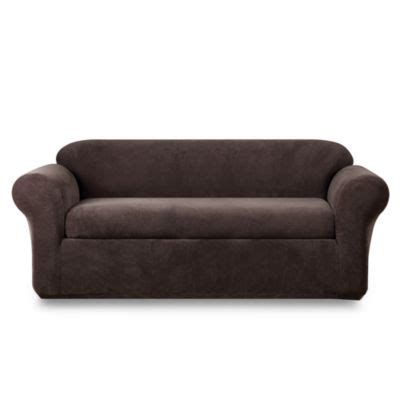 sure fit stretch metro 2 piece sofa slipcover buy stretch sofa covers from bed bath beyond