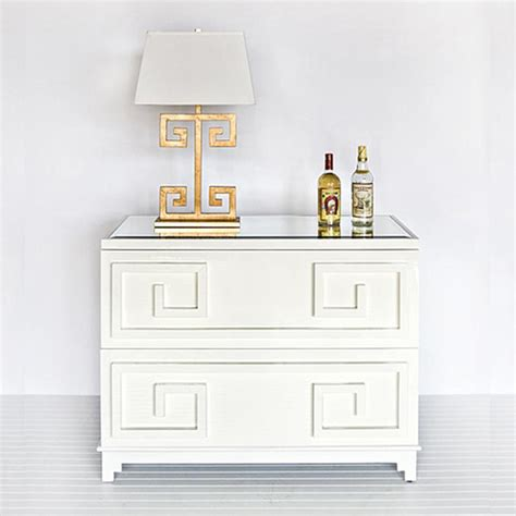 2 Drawer Dresser White Worlds Away Wrenfield White Lacquer 2 Drawer Chest